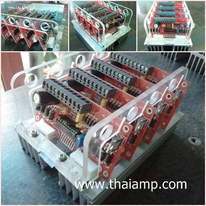 Drive Stepping Motor แบบนี้จะมีแผ่นระบายความร้อนขนาดใหญ่รวมด้วย  เหมาะสำหรับงาน Mini CNC หรืองาน DIY ทั่วไป